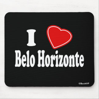 I Love Belo Horizonte Mouse Pad