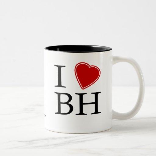 I Love Belo Horizonte Mugs