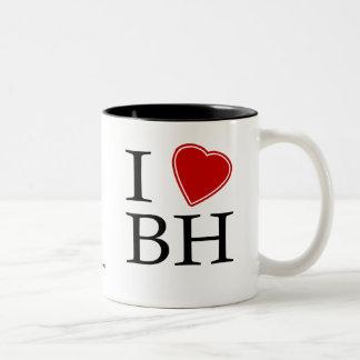 I Love Belo Horizonte Two-Tone Mug