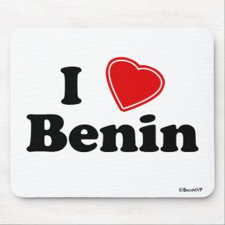 I Love Benin Mousepads
