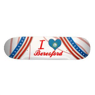 I Love Beresford, South Dakota Skateboard Deck