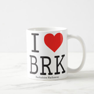 I Love Berkshire Hathaway (BRK) Coffee Mug