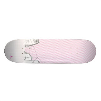 I Love Berlin Skateboard