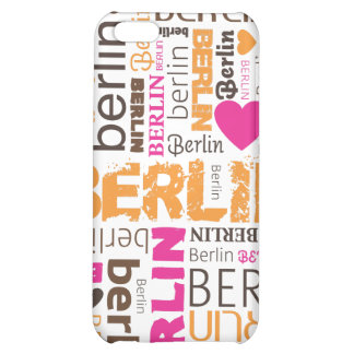 i love berlin typography pattern iphone case cover for iPhone 5C