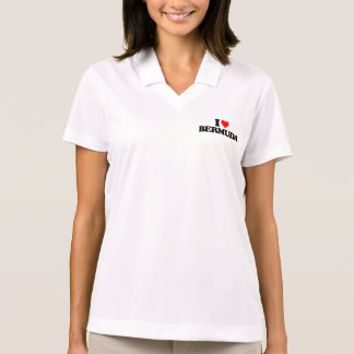 I LOVE BERMUDA POLO T-SHIRTS