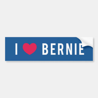 I Love Bernie Bumper Sticker