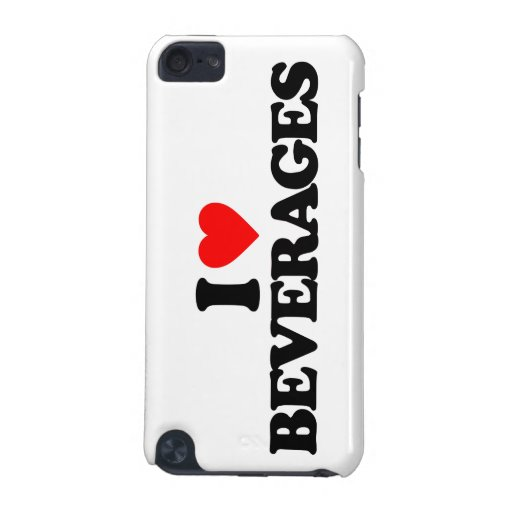 I LOVE BEVERAGES iPod TOUCH 5G CASE