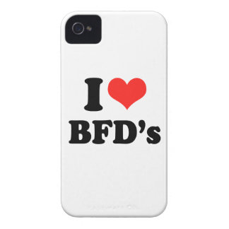 I LOVE BFDS.png iPhone 4 Case-Mate Cases