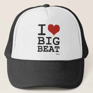 I love Big Beat Trucker Hat