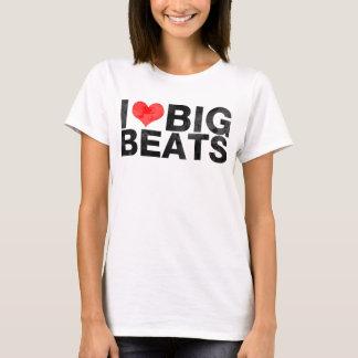 I Love Big Beats Worn T-Shirt