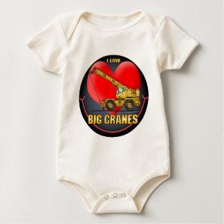 I Love Big Cranes Infant Creeper