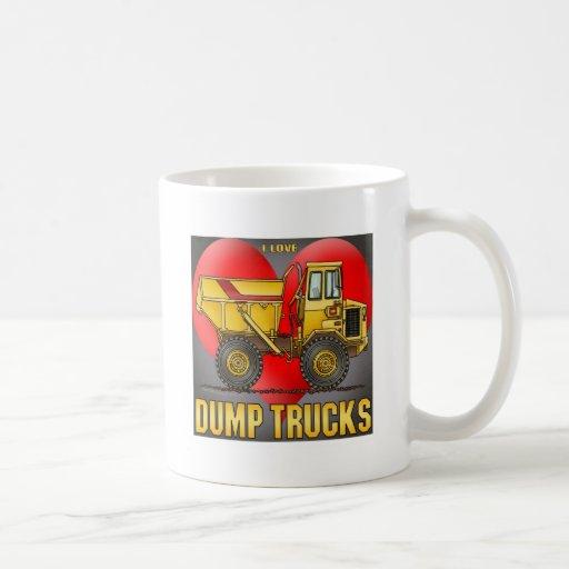 I Love Big Dump Trucks Coffee Mug