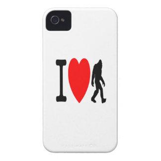 I LOVE BIGFOOT Case-Mate iPhone 4 CASE