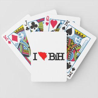 I LOVE BIH BICYCLE PLAYING CARDS