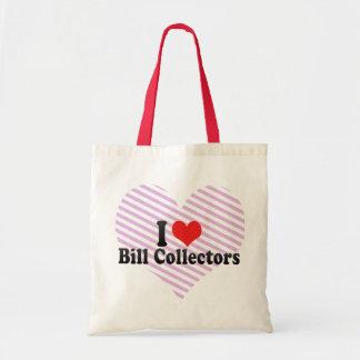 I Love Bill Collectors Tote Bag