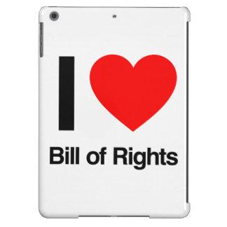 i love bill of rights iPad air case