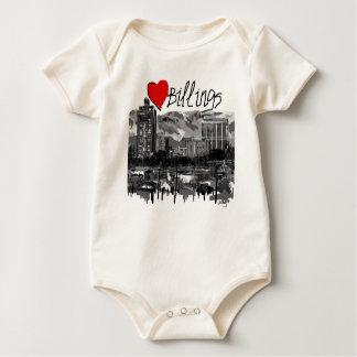 I love Billings Baby Bodysuit
