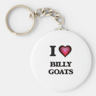 I Love Billy Goats Key Ring