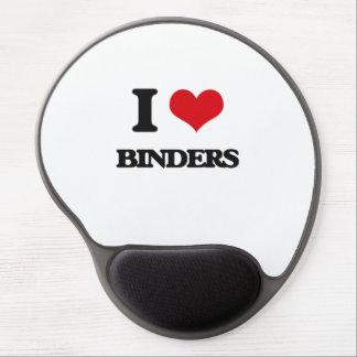 I Love Binders Gel Mouse Pad