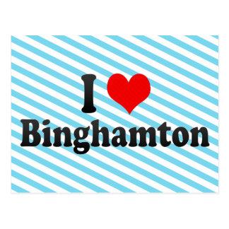 I Love Binghamton, United States Postcard