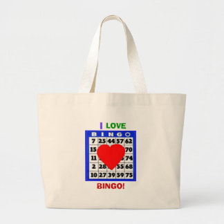 I LOVE BINGO!  BAG