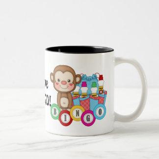 I love Bingo monkey coffee mug