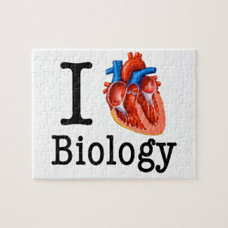 I love Biology Jigsaw Puzzle