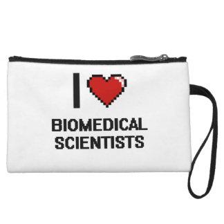I love Biomedical Scientists Wristlet