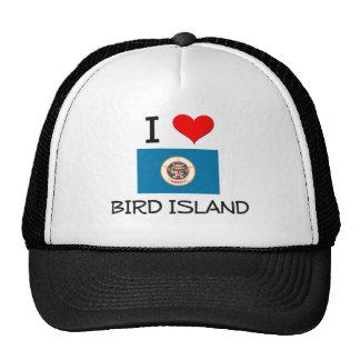 I Love Bird Island Minnesota Hat