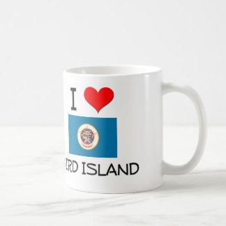 I Love Bird Island Minnesota Coffee Mug