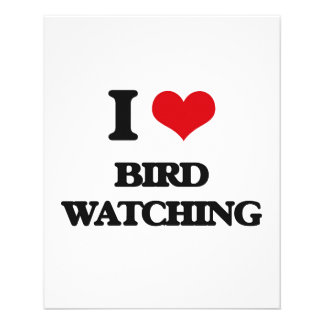 I Love Bird Watching Personalized Flyer