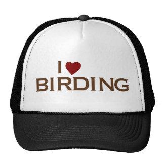 I Love Birding Cap