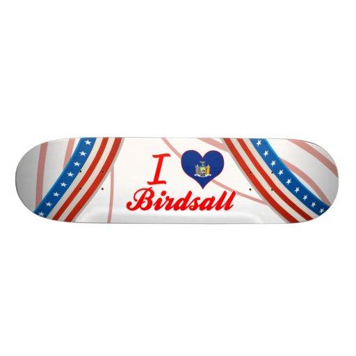 I Love Birdsall, New York Skateboards