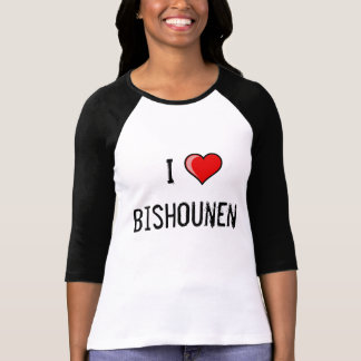 I Love Bishounen T-Shirt