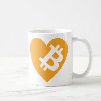 I Love Bitcoin Coffee Mug