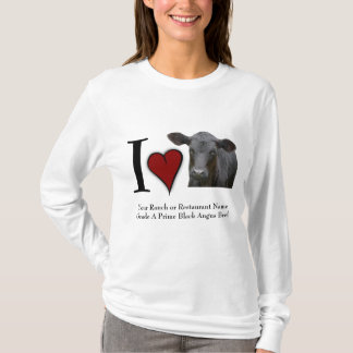 I Love Black Angus Beef T-Shirt