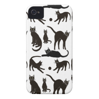 I Love Black Cats Blackberry Bold Case-Mate Case