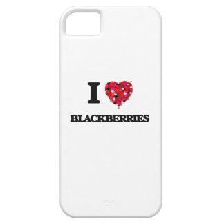 I Love Blackberries iPhone 5 Case