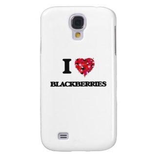I Love Blackberries Samsung Galaxy S4 Case