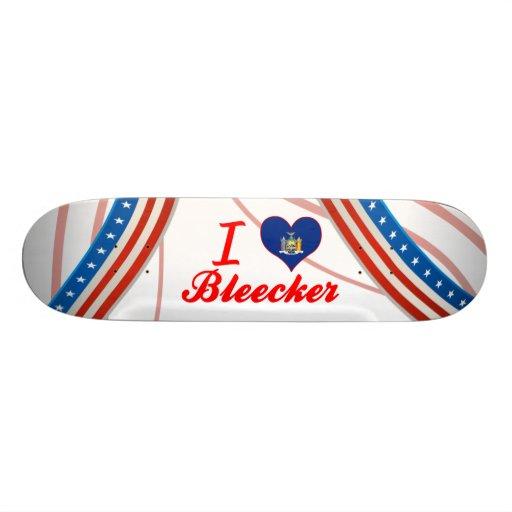 I Love Bleecker, New York Skate Board