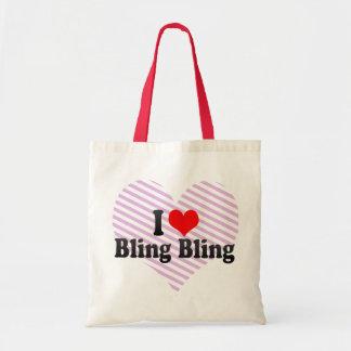 I Love Bling Bling Tote Bag