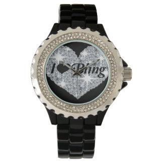 I love bling watch