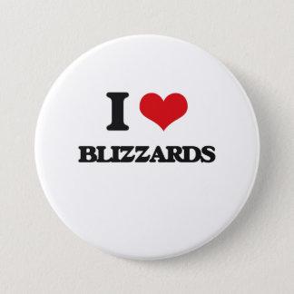 I love Blizzards 7.5 Cm Round Badge