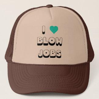 I Love Blow Jobs Trucker Hat