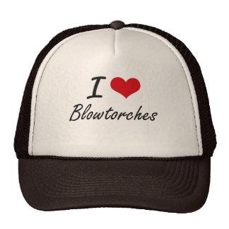I Love Blowtorches Artistic Design Cap