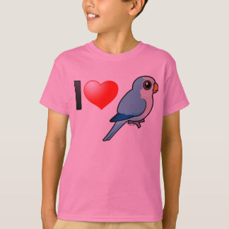 I Love Blue Quakers T-Shirt
