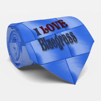I LOVE BLUEGRASS-TIE TIE