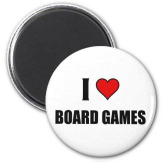 I love Board Games Magnet