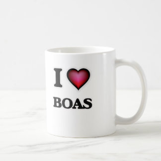 I Love Boas Coffee Mug
