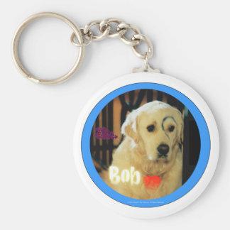 I love Bob the dog! Key Ring